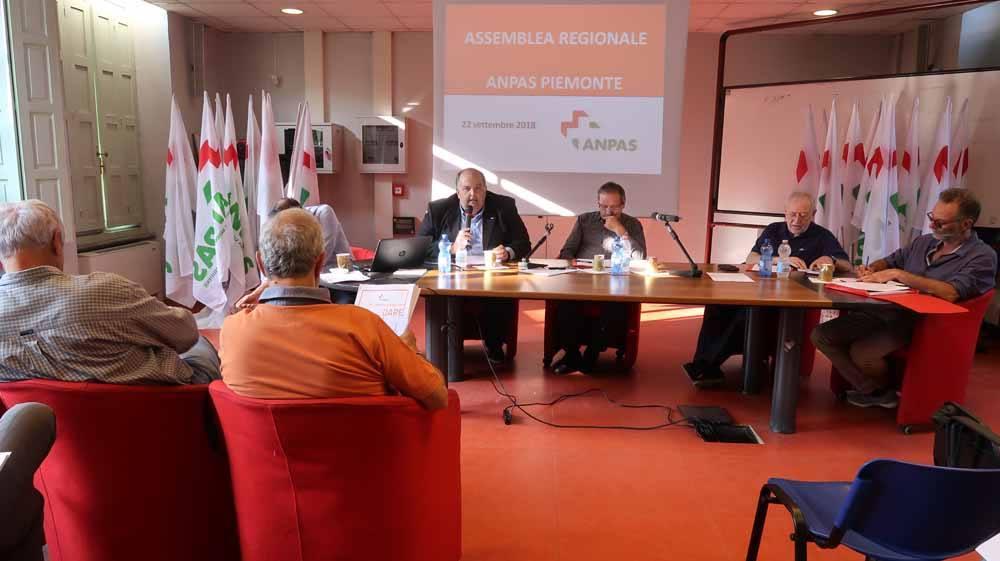Assemblea regionale Anpas Piemonte. Elezione degli organi statutari Anpas Piemonte